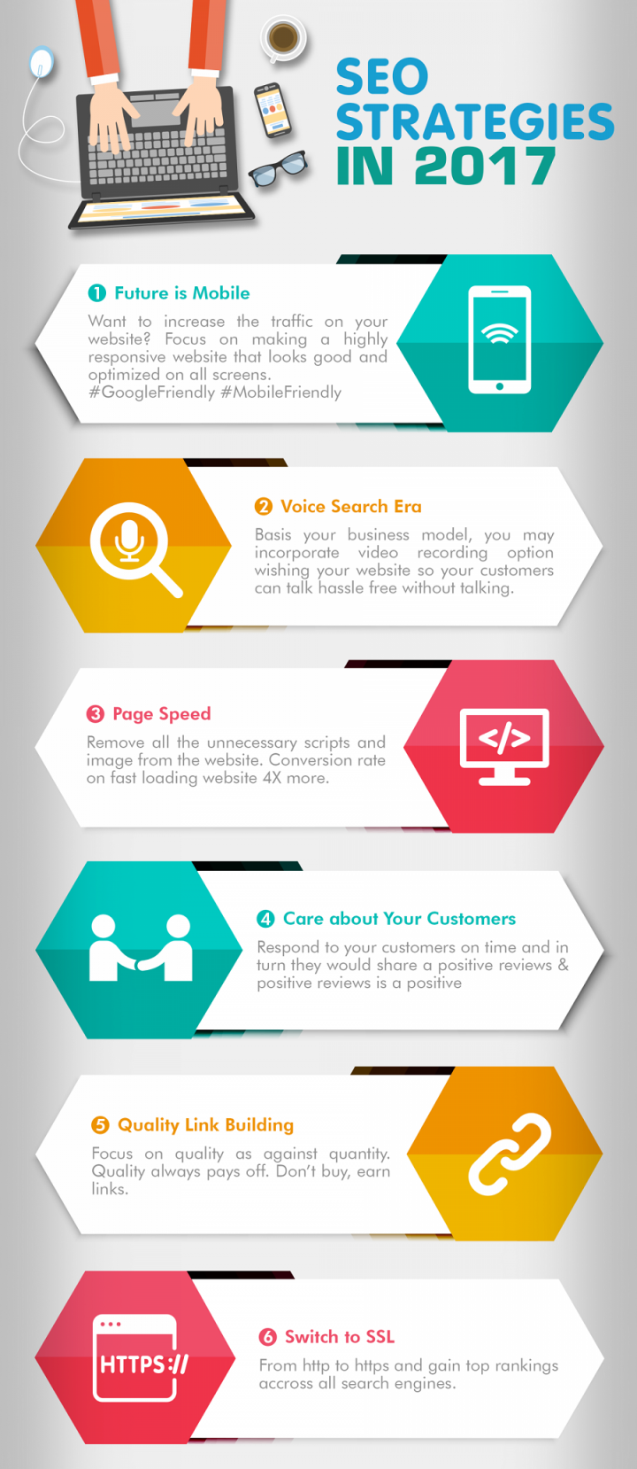 2017 Link building strategies infographic